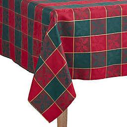 Saro Lifestyle Royal Plaid Table Linen Collection