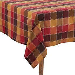 Saro Lifestyle Harvest Plaid Table Linen Collection