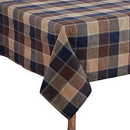 Saro Lifestyle Harvest Plaid Table Linen Collection