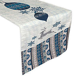 Laural Home® Simply Winter Table Runner in Blue