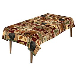 Laural Home® Lodge Collage Table Linen Collection