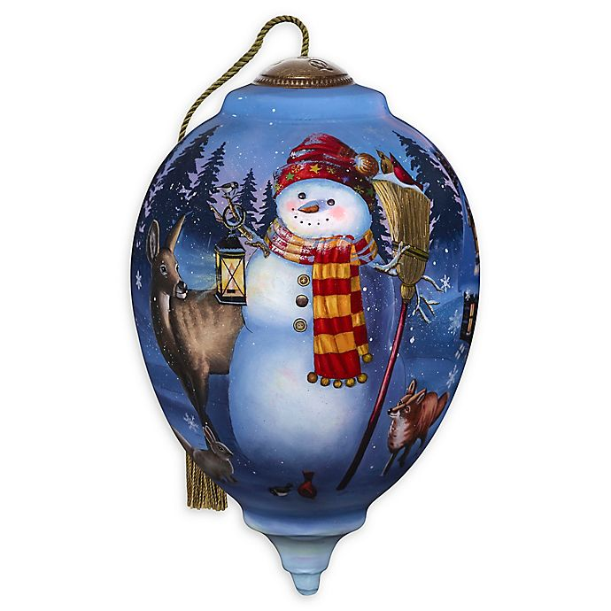 Alternate image 1 for Ne'Qwa® Woodland Winter Friends Ornament