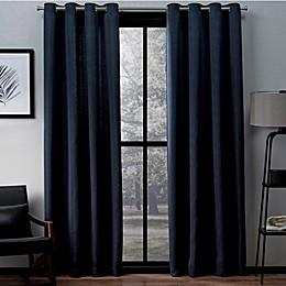Exclusive Home Virenze 96-Inch Grommet Top Window Curtain Panel Pair