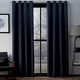 Exclusive Home Virenze 96-Inch Grommet Top Window Curtain  (Set of 2)