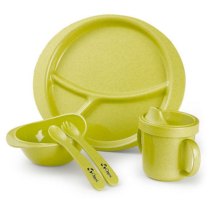 Alternate image 1 for Ozeri Earth 5-Piece Kids' Dish Set