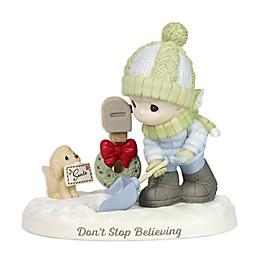 Precious Moments® Boy Shoveling Snow Figurine
