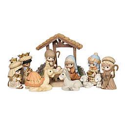 Precious Moments® Holiday 11-Piece Nativity Set