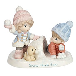 Precious Moments® Boy and Girl in Snow Figurine
