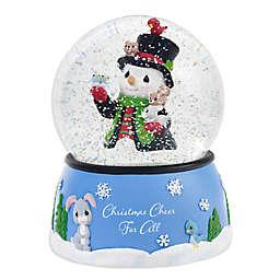 Precious Moments® Holiday Snowman Water Globe