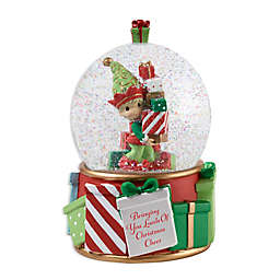Precious Moments® Holiday Elf Water Globe