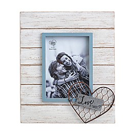 Precious Moments® Love is Sweet 5-Inch x 7-Inch Wood Picture Frame in White