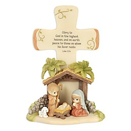 Precious Moments® Holiday Nativity Cross
