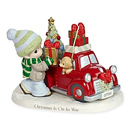 Precious Moments® Holiday Red Truck Figurine