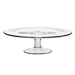 Krosno Glass Pedestal Cake Plate