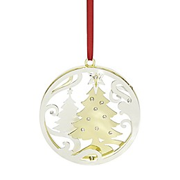 Lenox® Stamped Tree Christmas Ornament