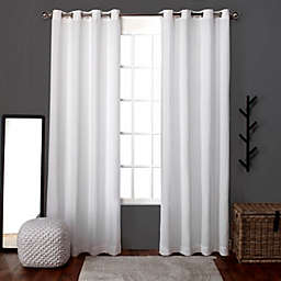 Loha 63-Inch Grommet Window Curtain Panels in Winter White (Set of 2)