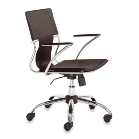 Zuo 174 Modern Trafico Office Chair Bed Bath Amp Beyond