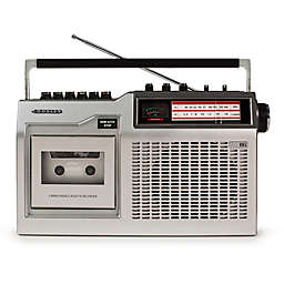 Crosley CT200 Cassette Player in Silver