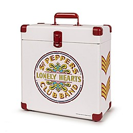 Crosley Record Carrier Case - The Beatles Sgt. Pepper in White
