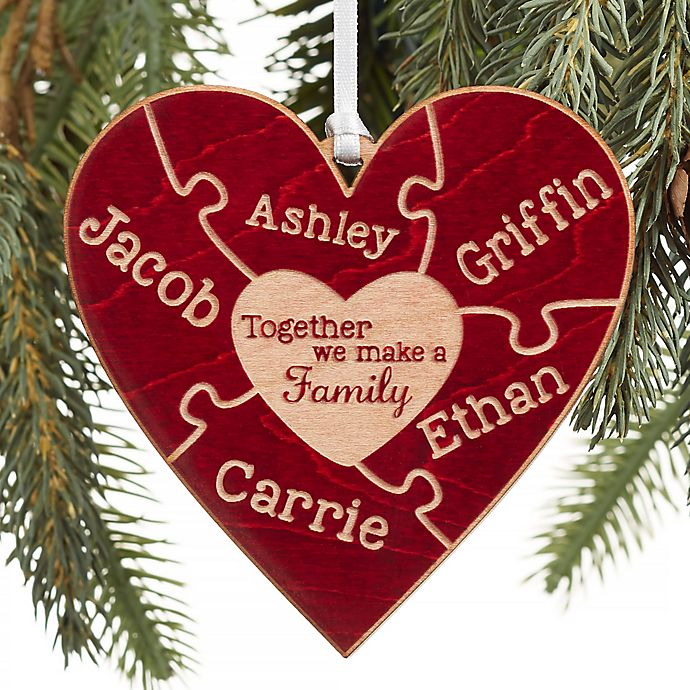 Alternate image 1 for Together We Make A Family Christmas Personalized Ornament