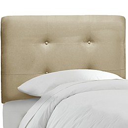 Skyline Furniture Tufted Headboard in Premier Oatmeal