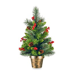 National Tree Company 2-Foot Crestwood Spruce Tree