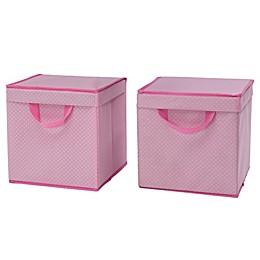 Delta Children Lidded Storage Bins (Set of 2)