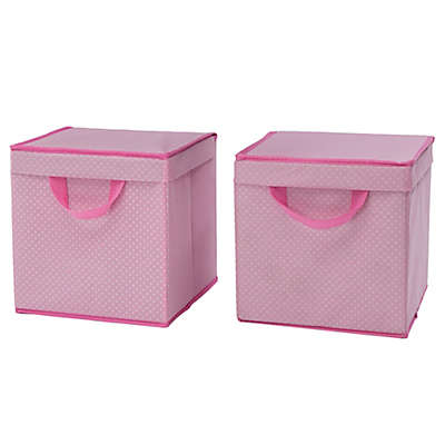 Delta Children Lidded Storage Bins (Set of 2)