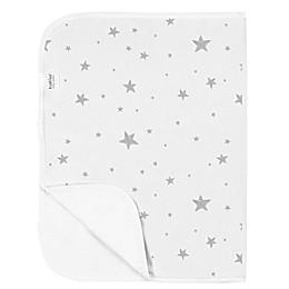 Kushies® Star Print Changing Pad Liner in Grey