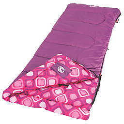 Coleman® Plum Fun™ 45 Youth Sleeping Bag in Magenta