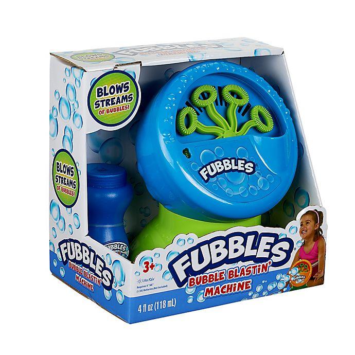 Alternate image 1 for Little Kids® Fubbles® Bubble Blastin' Machine
