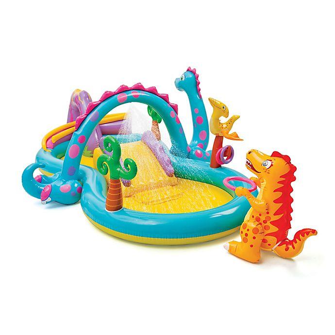 Alternate image 1 for Intex Dinoland Activity Pool Play Center