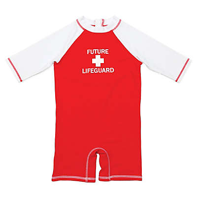 Floatimini Future Lifeguard Scuba Suit in Red
