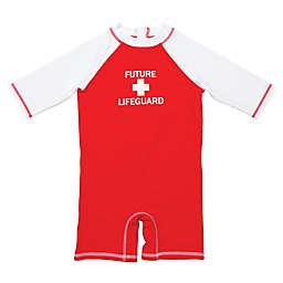 Floatimini Future Lifeguard Scuba Suit in Red