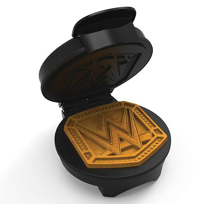 Alternate image 1 for WWF Championship Belt Waffle Maker in Black