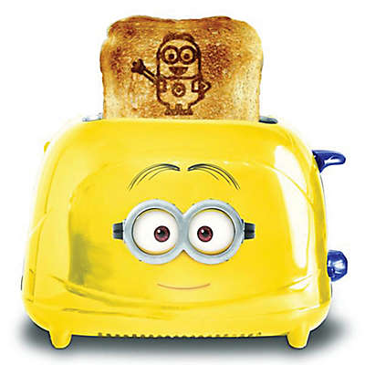 Minions 2-Slice Dave Toaster in Yellow