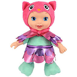 New Adventures Little Darlings Animal Cuties 11-Inch Baby Doll with Owl Outfit