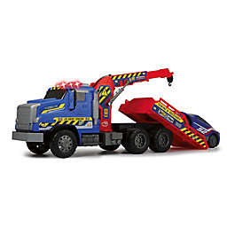 Dickie Toys Light & Sound Giant Tow Truck in Red