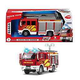 Dickie Toys Light & Sound Iveco Fire Engine in Red