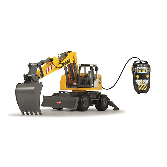 Alternate image 1 for Dickie Toys Remote Controlled Excavator in Yellow