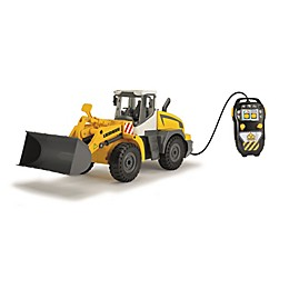 Dickie Toys Remote Controlled Construction Front Loader in Yellow