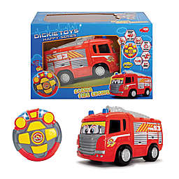 Dickie Toys Remote Controlled Happy Fire Truck in Red