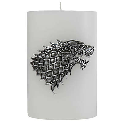 Game of Thrones House Stark Candle