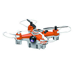 Force Flyers Nano R/C Drone with 0.3MP Camera in Orange