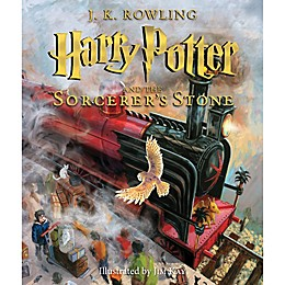 Harry Potter and the Sorcerers's Stone Fully Illustrated Book