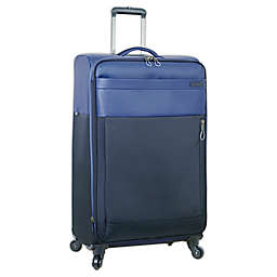 Nautica® Harpswell 28-Inch Spinner Checked Luggage