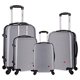 InUSA Royal 4-Piece Hardside Spinner Luggage Set