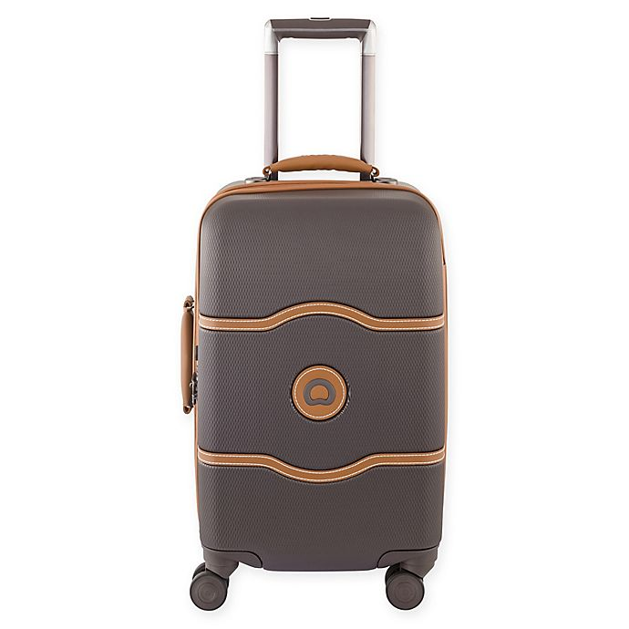 26f4f0308 DELSEY PARIS CHATELET+ 21-Inch Hardside Spinner Carry On Luggage ...