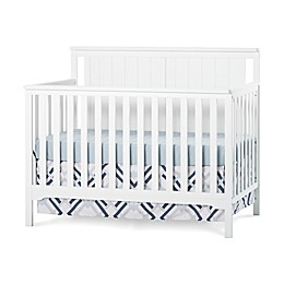 Child Craft™ Forever Eclectic™ Cottage Flat Top Convertible Crib in Matte White