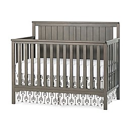 Child Craft™ Forever Eclectic™ Cottage Flat Top Convertible Crib in Dapper Grey